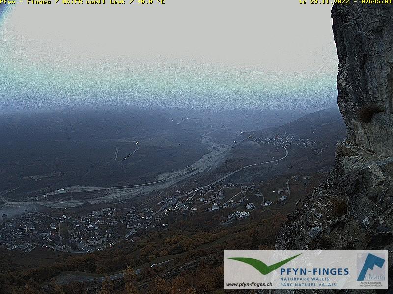 Leuk Pfynwald zur Rhone
